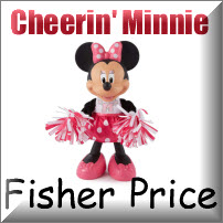 Cheering Minnie Mouse Doll