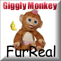 Furreal Cuddly Monkey