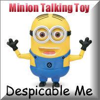 Despicable Me Minion Talking Figure