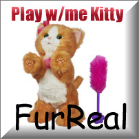 Furreal Play with Me Kitty