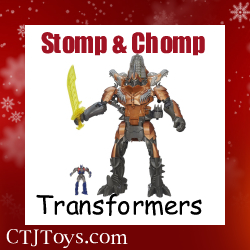 Transformers Stomp and Chomp